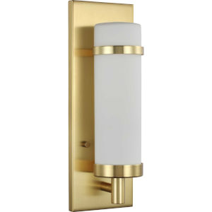 Hartwick Satin Brass One-Light ADA Wall Sconce