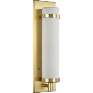Hartwick Satin Brass Five-Inch One-Light ADA Wall Sconce