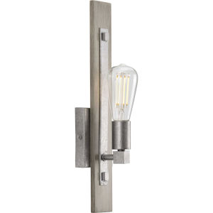 Hemsworth Galvanized Five-Inch One-Light ADA Wall Sconce
