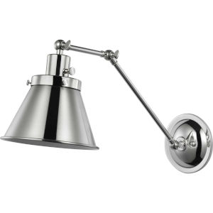 Hinton Polished Nickel One-Light ADA Wall Sconce