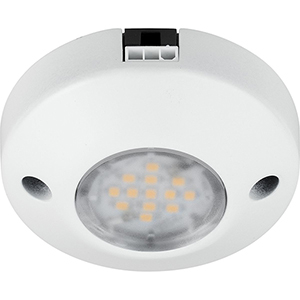 P7510-30: Hide-a-Lite III White One-Light LED Undercabinet Puck Light