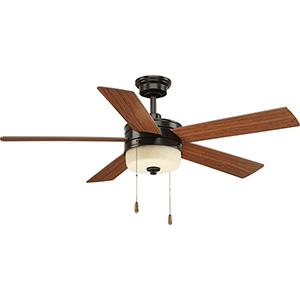 P2558-2030K: Verada Antique Bronze 54-Inch LED Ceiling Fan