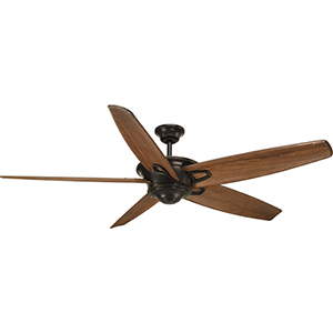 P2560-20: Caleb Antique Bronze 68-Inch Ceiling Fan