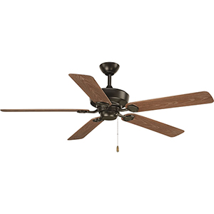 P2562-20: Lakehurst Antique Bronze 60-Inch Ceiling Fan