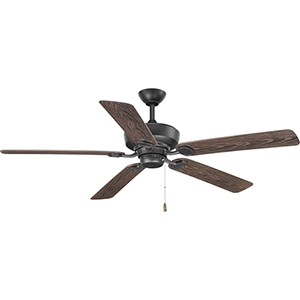 P2562-80: Lakehurst Forged Black 60-Inch Ceiling Fan