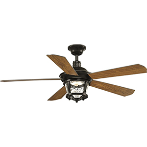P2576-2030K: Smyrna Antique Bronze 52-Inch LED Ceiling Fan