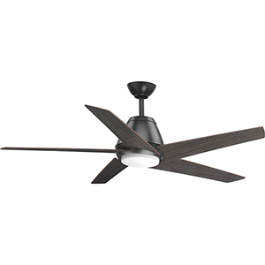 P2582-14330K: Gust Graphite 54-Inch LED Ceiling Fan