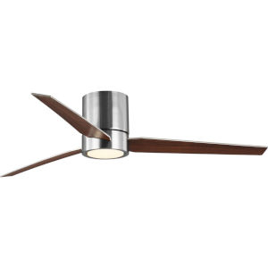 Braden Brushed Nickel 56-Inch LED One-Light Ceiling Fan