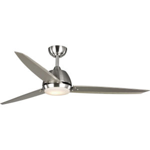 Oriole Brushed Nickel 60-Inch LED One-Light Ceiling Fan