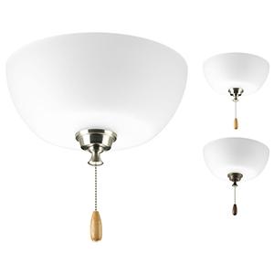 P2649-01WB: Wisten White Two-Light LED Light Kit