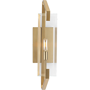 P300108-109: Cahill Brushed Bronze One-Light Wall Sconce