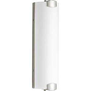 P300172-009-30: Balance LED Brushed Nickel Energy Star Three-Light LED Bath Bar