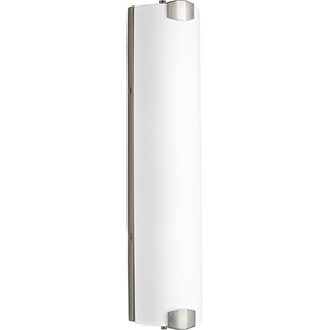 P300173-009-30: Balance LED Brushed Nickel Energy Star Four-Light LED Bath Bar