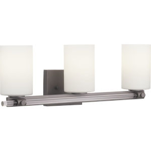 Lisbon Black Three-Light Bath Fixture