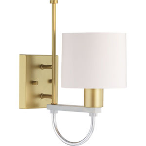 Rigsby Vintage Gold One-Light wall sconce