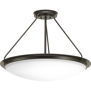 P350066-129-30: Apogee Architectural Bronze Energy Star LED Semi Flush Mount
