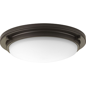 P350070-129-30: Apogee Architectural Bronze Energy Star LED Semi Flush Mount