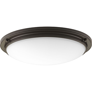 P350071-129-30: Apogee Architectural Bronze Energy Star LED Semi Flush Mount