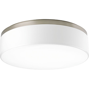 P350078-009-30: Maier LED Brushed Nickel Energy Star LED Flush Mount