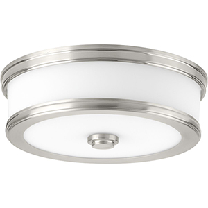 P350085-009-30: Bezel LED Brushed Nickel Energy Star LED Flush Mount