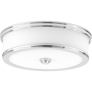 P350086-015-30: Bezel LED Polished Chrome Energy Star LED Flush Mount