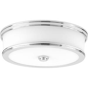 P350086-015-30: Bezel LED Polished Chrome Energy Star LED Flush Mount