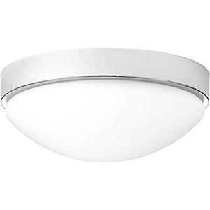 P350105-015-30: Elevate Polished Chrome Energy Star LED Flush Mount
