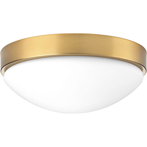 P350105-109-30: Elevate Brushed Bronze Energy Star LED Flush Mount