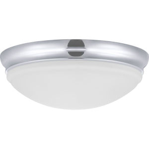 Polished Chrome LED One-Light Flush Mount