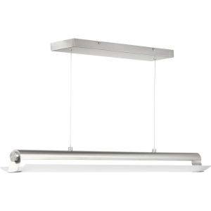 Brushed Nickel LED One-Light Pendant