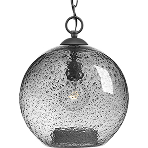 P500063-143: Malbec Graphite One-Light Pendant