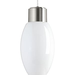 P500066-009-30: Neat LED Brushed Nickel Energy Star LED Mini Pendant