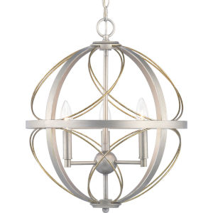 Brandywine Silver Ridge Three-Light Pendant