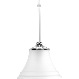 P500072-015: Tinsley Polished Chrome One-Light Mini Pendant