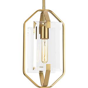 P500075-109: Cahill Brushed Bronze One-Light Mini Pendant