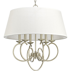 P500081-134: Savor Silver Ridge Six-Light Pendant