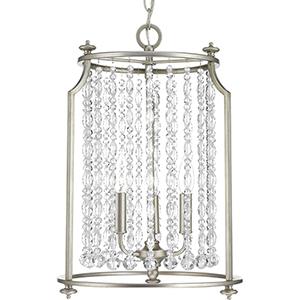 P500085-134: Desiree Silver Ridge Three-Light Pendant