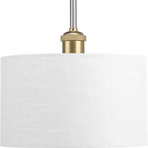 P500101-009: Cordin Brushed Nickel One-Light Pendant