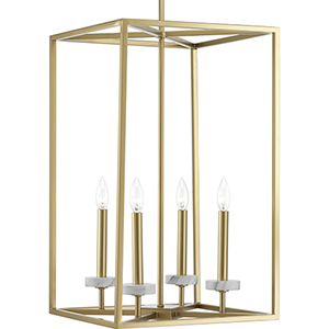 P500105-078: Palacio Vintage Gold Four-Light Pendant