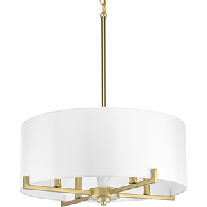 P500108-078: Palacio Vintage Gold Four-Light Pendant