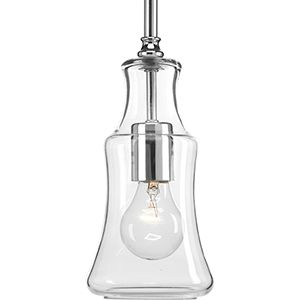 P500113-015: Litchfield Polished Chrome One-Light Mini Pendant