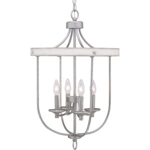 Gulliver Galvanized Four-Light Foyer