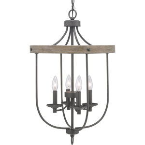 Gulliver Graphite Four-Light Foyer