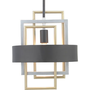 Adagio Black One-Light Pendant