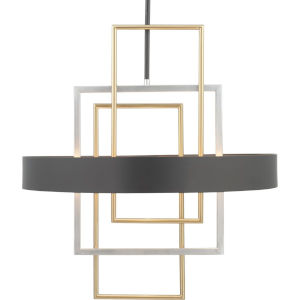 Adagio Black Six-Light Pendant