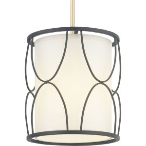 Landree Black One-Light Pendant
