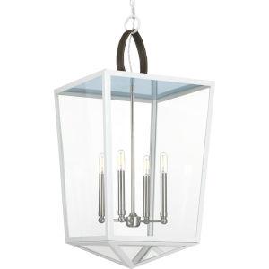Shearwater White Four-Light Pendant