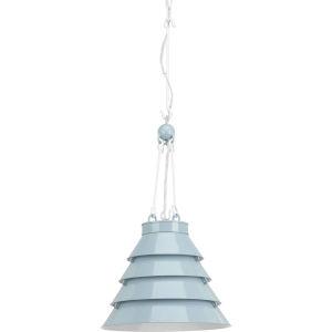 Surfrider Matte Blue Enamel One-Light Pendant
