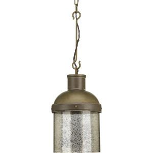 Rockdance Aged Brass One-Light Mini-Pendant