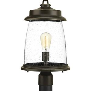 P540030-020: Conover Antique Bronze One-Light Outdoor Post Lantern